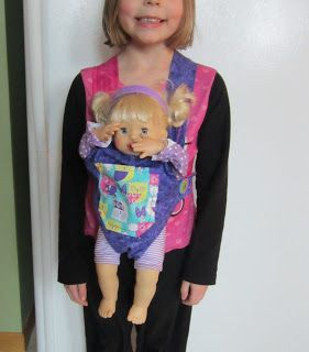 Tutorial for a doll carrier