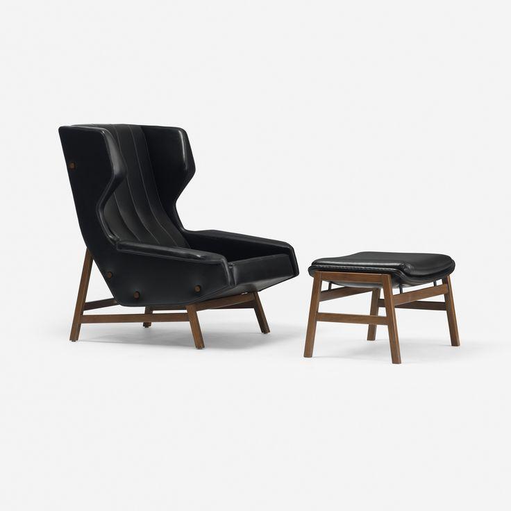 Superb Italain Modern Wing Chair.