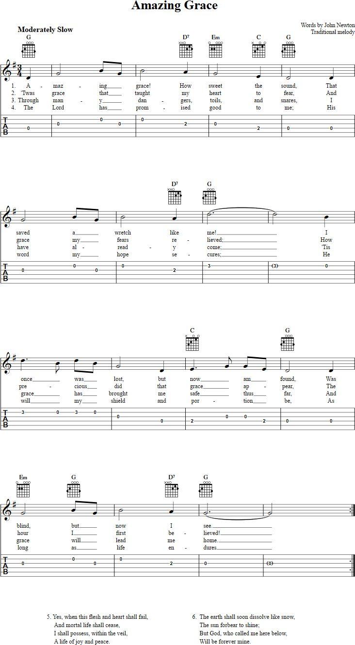 25+ Best Ideas about Amazing Grace Guitar Chords on Pinterest : Amazing grace musical, Amazing ...