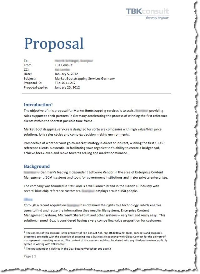 The 25+ best Business proposal sample ideas on Pinterest Sample - promotion proposal sample