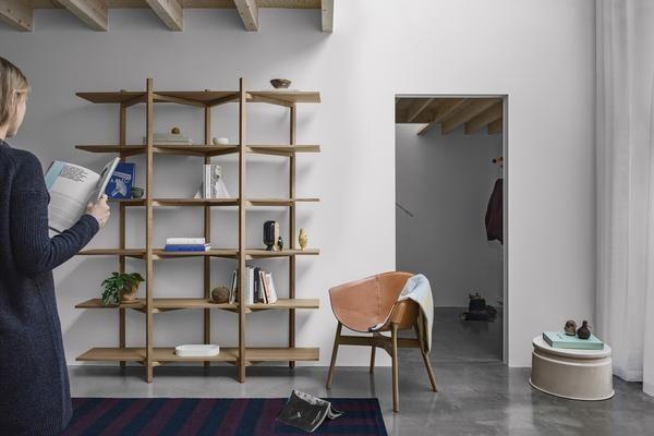 Zig Zag Shelf by Studio deFORM - Hem