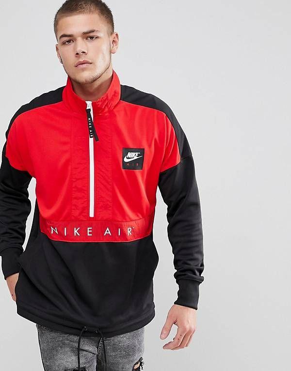 Nike Air Half Zip Jacket In Black 918324 657 | Spring Trans