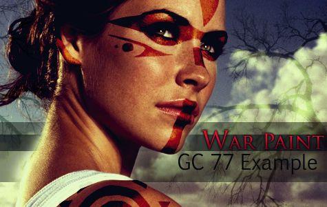 Indian War Face Paint Designs | Gc #77: War Paint | RPG-Directory