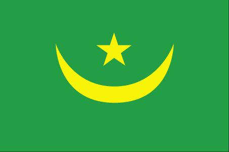 Country Flags: Mauritania Flag