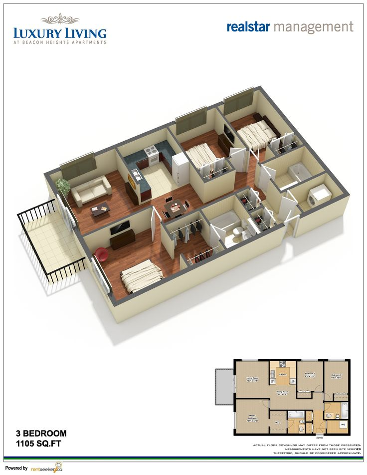 Apartment Design 3d 30 best 3d floor plan images on pinterest | free floor plans