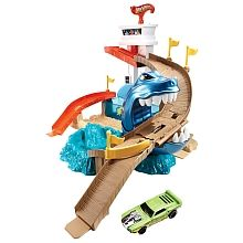 Hot Wheels - Colour Shifters - Sharkport Showdown Playset #giftguide