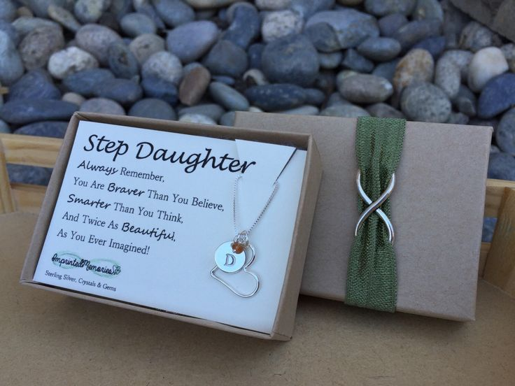 personalized gifts for step daughter