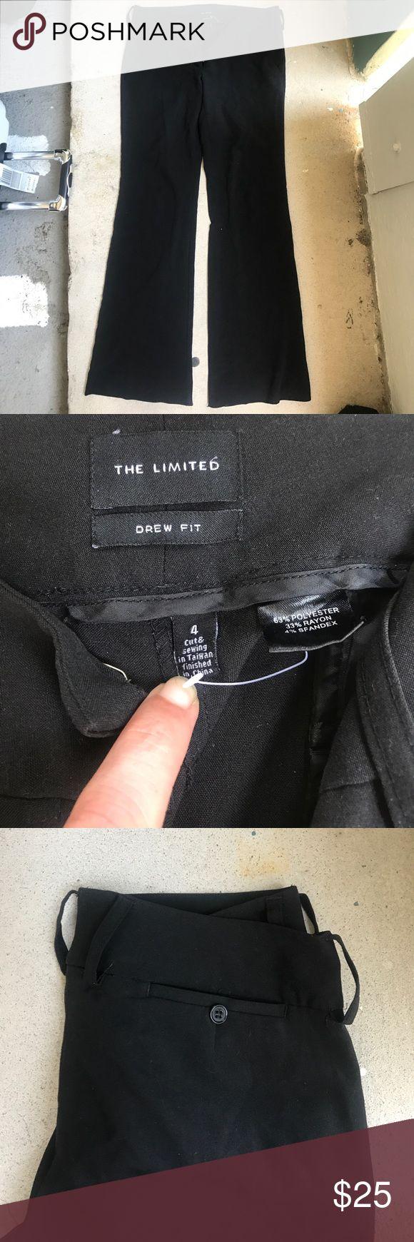 Limited drew fit 4 black trouser pants Limited drew fit 4 black trouser pants The Limited Pants Trousers