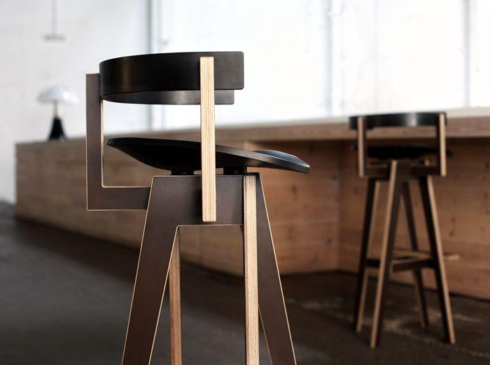 Barhockern, Design Interieur, Design Studios, Möbeldesign, Stühle, Ux / Ui  Designer, Holz, Möbel, Modern