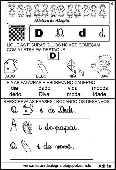 livro-das-familias-silabicas-letra+D-imprimir-colorir.JPG (464×677)