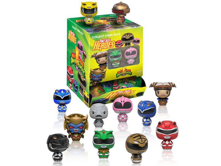#transformer mighty morphin power rangers pint size heroes random figure