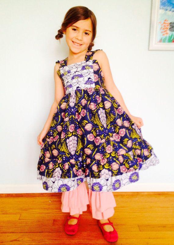 Art gallery flutter sleeve dress on Etsy, $58.00