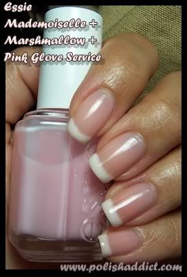 perfect soft french manicure