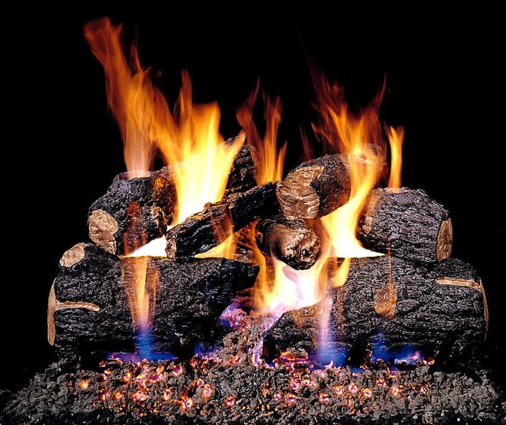 Real Fyre Charred Oak Vented Natural Gas Logs Set with On/Off Automatic  Pilot Kit - 25+ Best Ideas About Gas Log Insert On Pinterest Gas Log