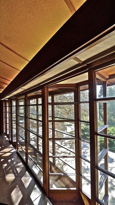 Hanna House, Frank Lloyd Wright, Architect | Flickr - Photo Sharing!