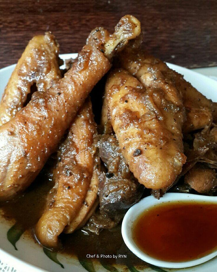 Ayam kampung saus madu ala Ririn