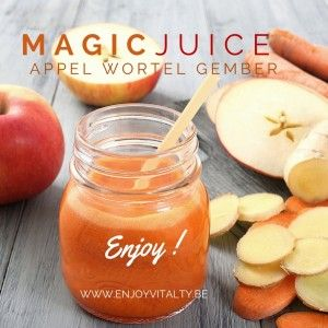 magic juice wortel appel gember