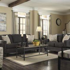 1000+ ideas about Dark Gray Sofa on Pinterest   Grey Sofas, Velvet ...