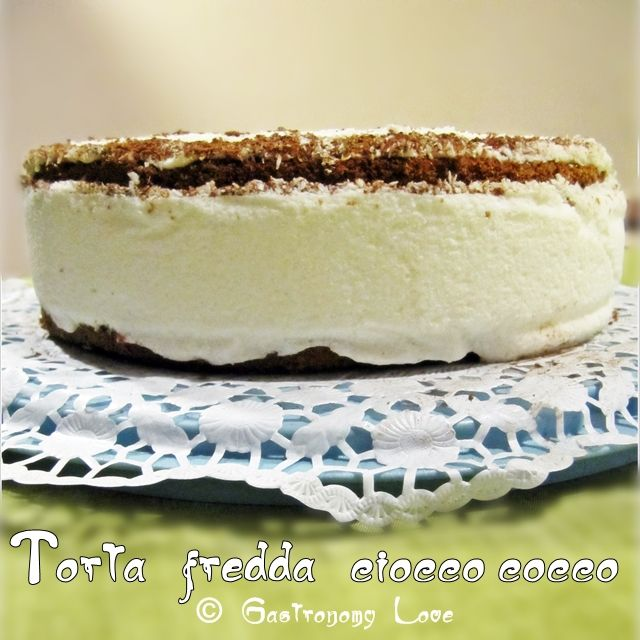 Ciocco-cocco: torta fredda al cocco | Gastronomy Love