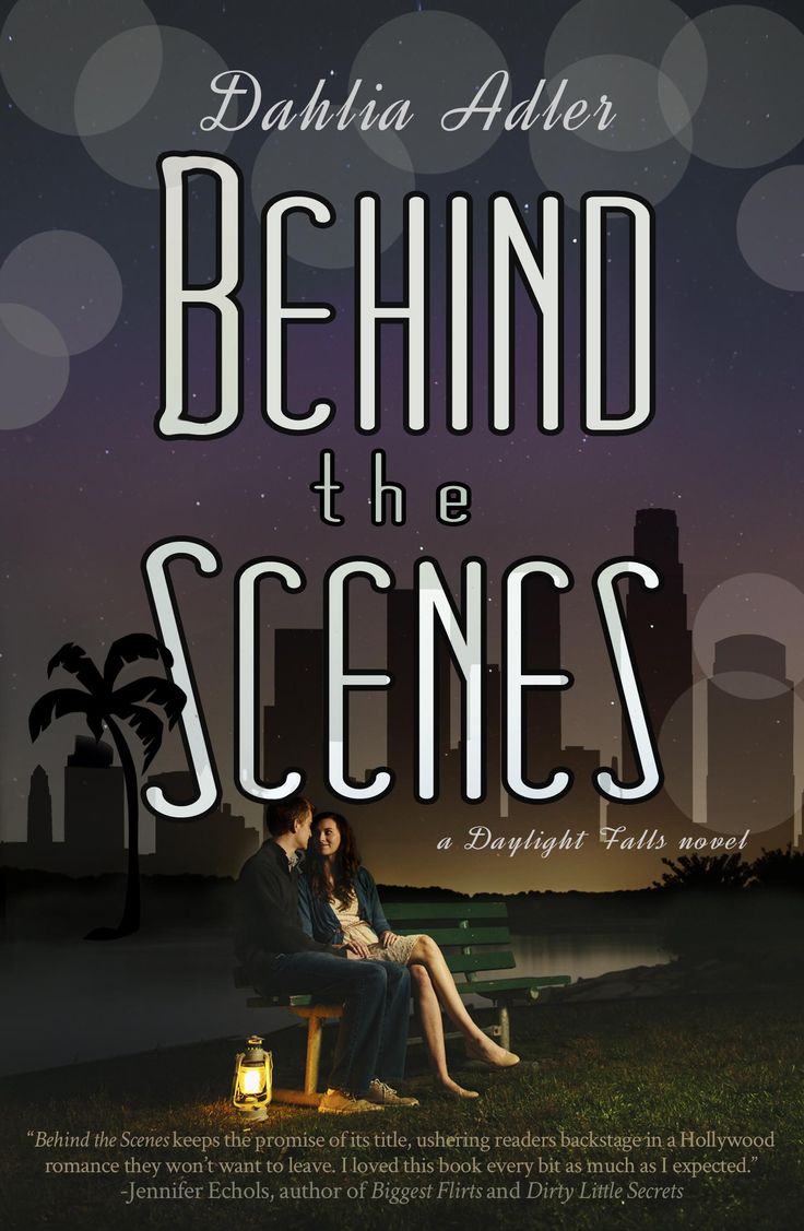 BEHIND THE SCENES has a brand-new cover, this time to match that of UNDER THE LIGHTS! Both were designed by the wonderfully talented Maggie Hall: http://www.maggiehall.com/p/design.html