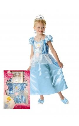 Disfraz de Cenicienta clásica para niña - Disfraces de Princesa