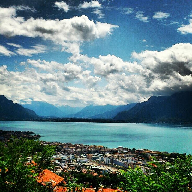 View from Chardonne, Switzerland <3 my photo