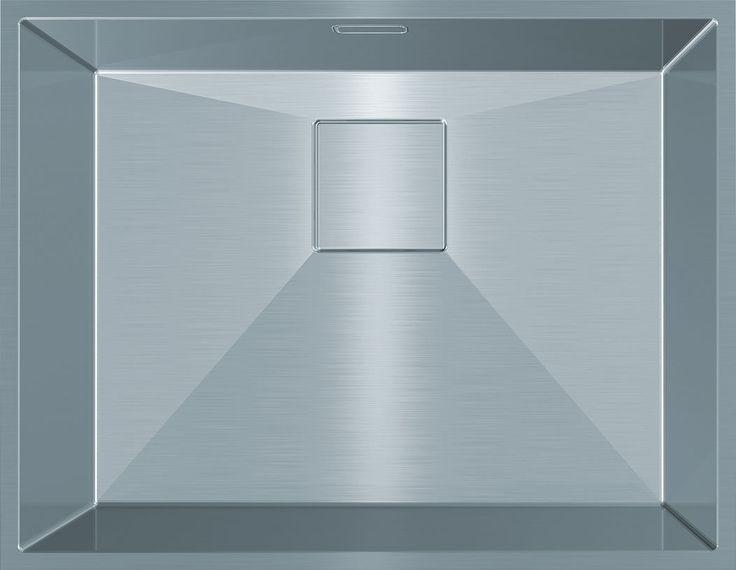 Franke PURE PUX 110-45, Bowl size: 450 x 420 x 180mm/29L
