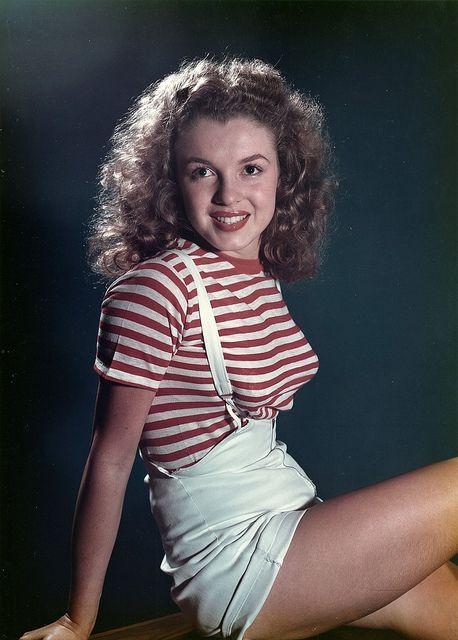 Marilyn Monroe als Teenager