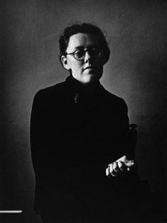 Maria Lang was  Doctor of philosphy in Literature. Photo Hans Hammarskiöld.