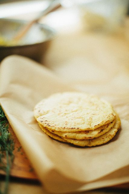 How to make homemade corn tortillas (only 3 ingredients: masa harina, warm water, and salt.) It's hard to go back to the store bought kind once you've had the real thing.