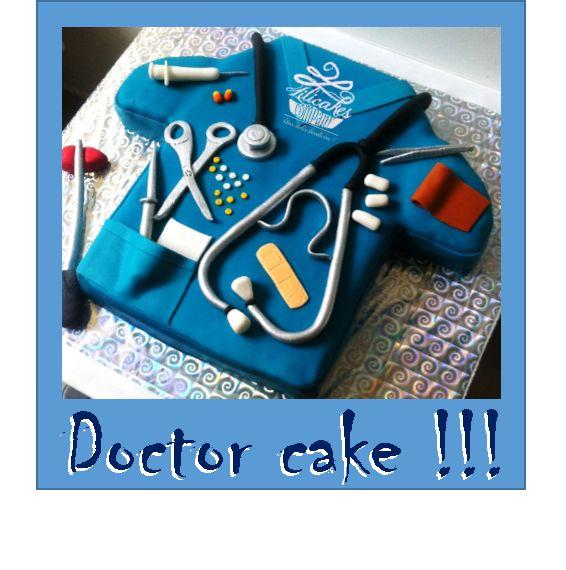 Doctor Cake Torta de médico Ponque de cirujano