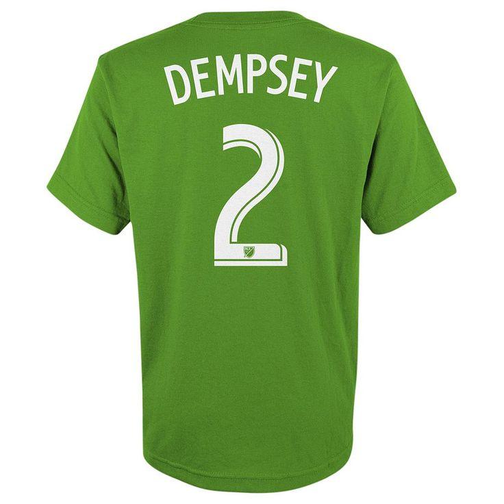 Adidas Seattle Sounders Clint Dempsey Tee - Boys 8-20, Size: Medium, Ovrfl Oth