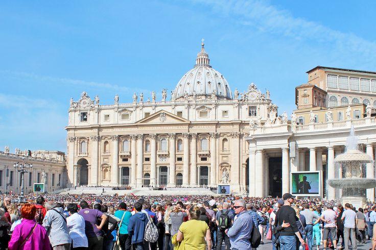 Petersplatz Rom, Papstaudienz