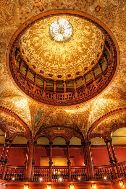 Take a tour of Flagler College, which used to be a resort hotel. The dining hall still has the original Tiffany windows!