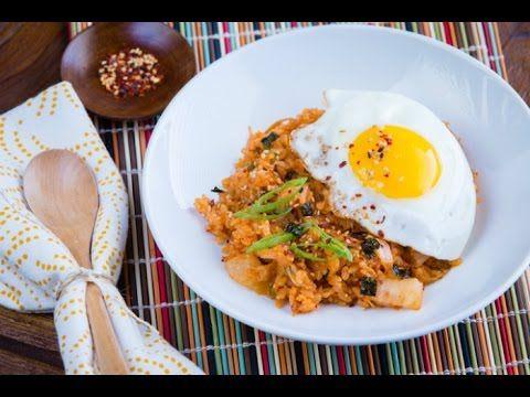 How to Make Kimchi Fried Rice (Recipe) キムチチャーハンの作り方(レシピ)