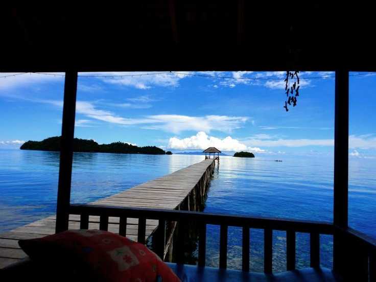 Kadidiri Paradise Dive resort in Togean Islands, Sulawesi, Indonesia.  Absolute paradise and some of the best diving in the world!