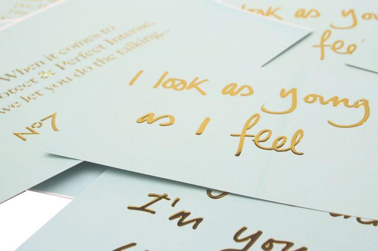 Nº7 #cards #branding #print #bespoke #insights #beauty