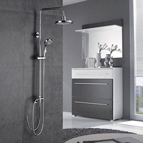 auralum elegant regendusche regendusche set duschset ohne duscharmatur duschsystem wasserfall - Regendusche Set