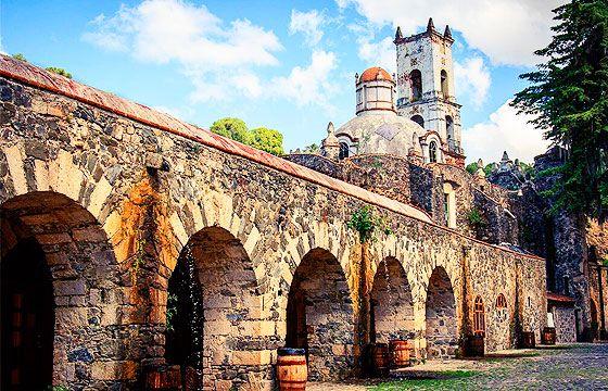 Huasca de Ocampo, Hidalgo. Ex hacienda de Santa María Regla.