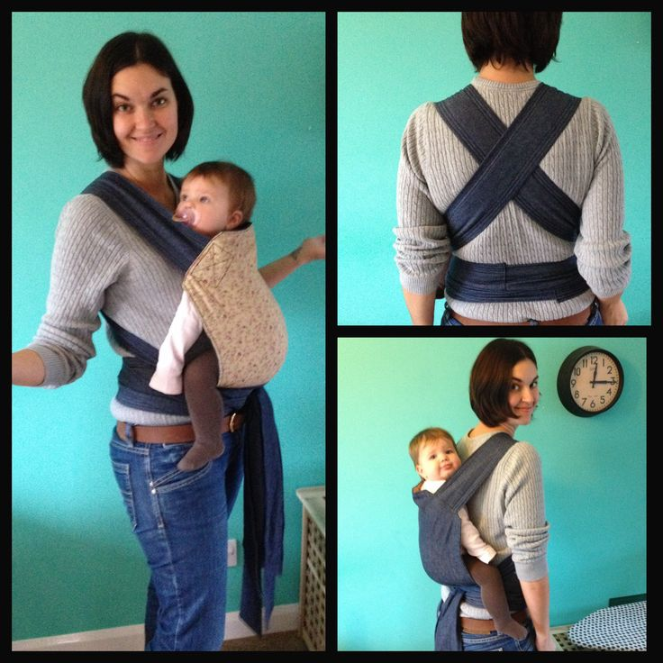 I made my own mei tai baby carrier using a tutorial from www.mybeaubaby.blogspot.com