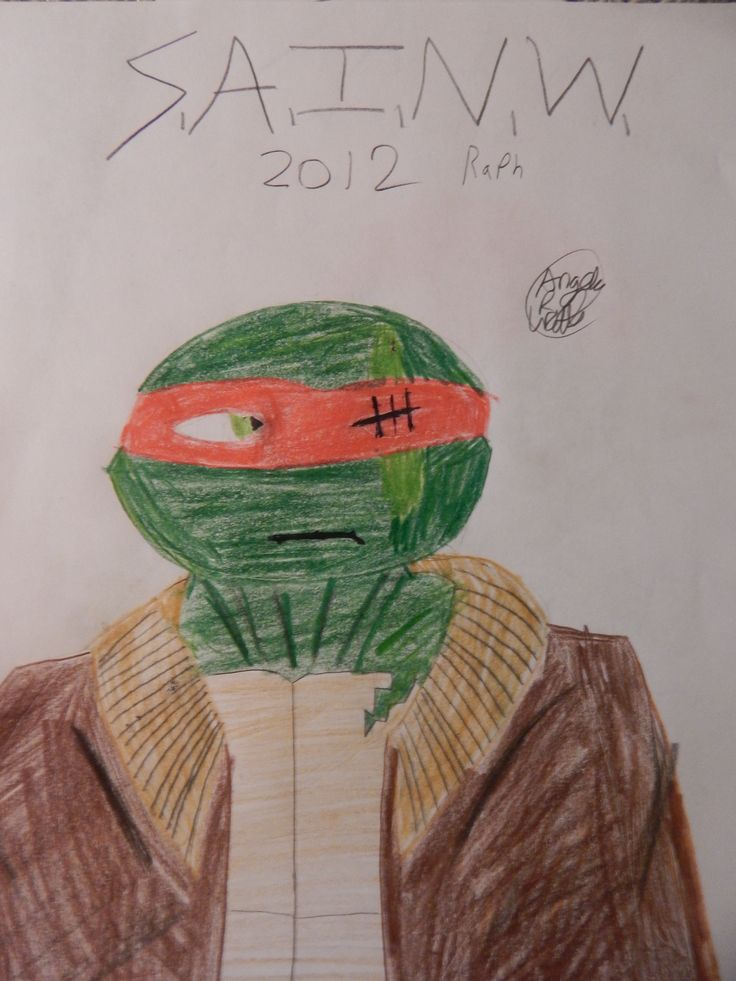 SAINW 2012 Raph; aka 2012 Raph in SAINW instead of 03 Raph. :3 Hop ya like it, I had more fund than I shoulda.