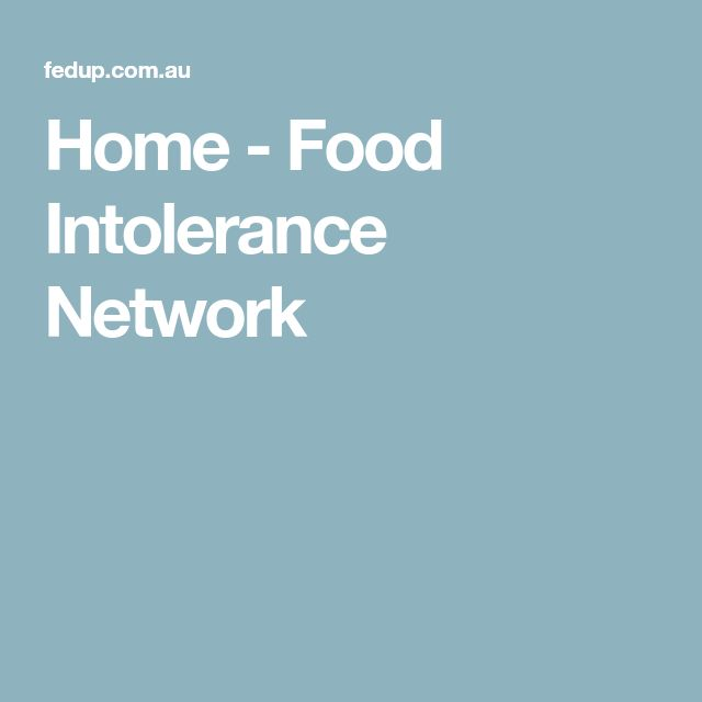 Home - Food Intolerance Network