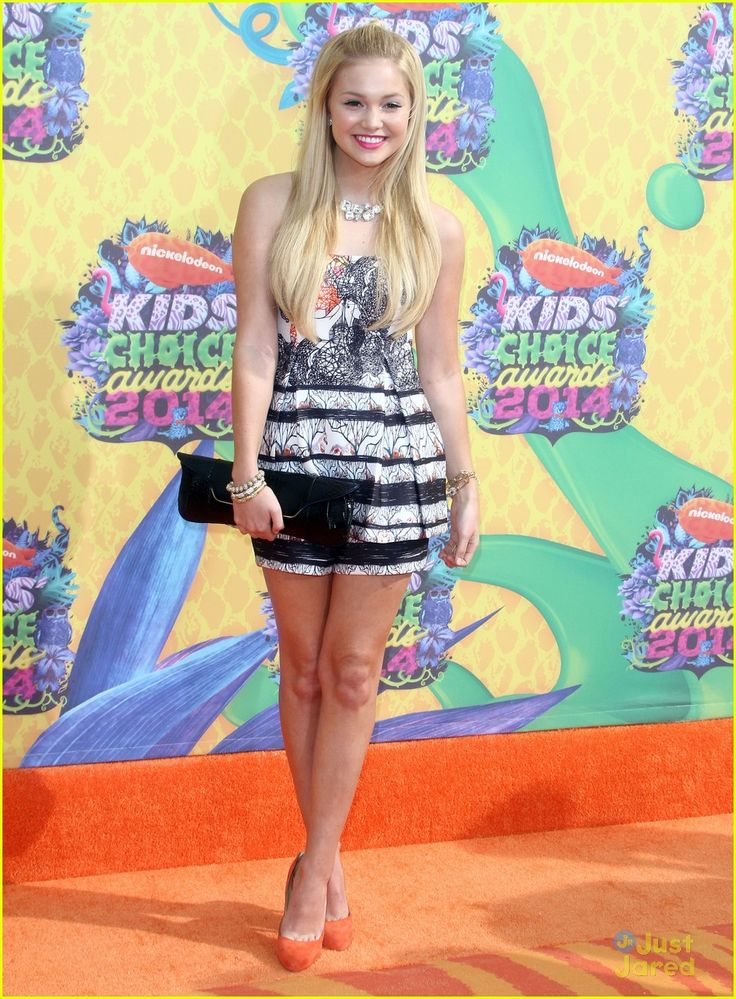 Olivia Holt  Austin North - Kids' Choice Awards 2014 Orange Carpet | olivia holt austin north 2014 kcas 05 - Photo Gallery | Just Jared Jr.