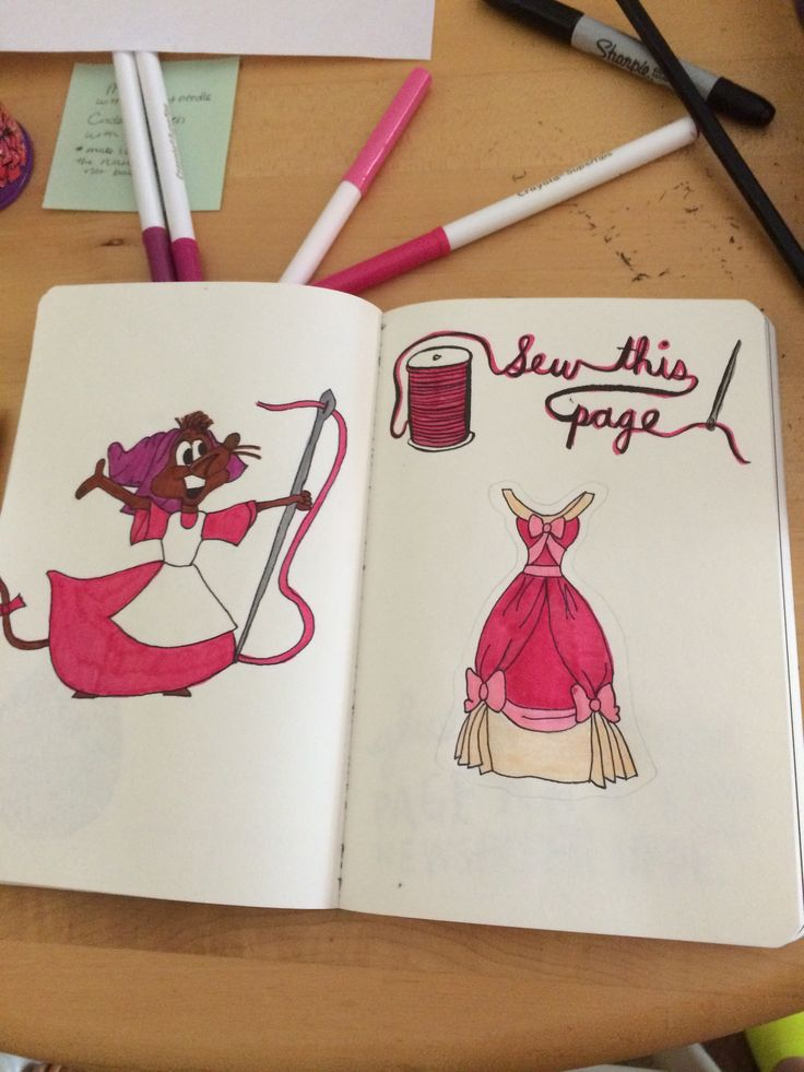 Wreck this journal #disney #wreckthisjournal