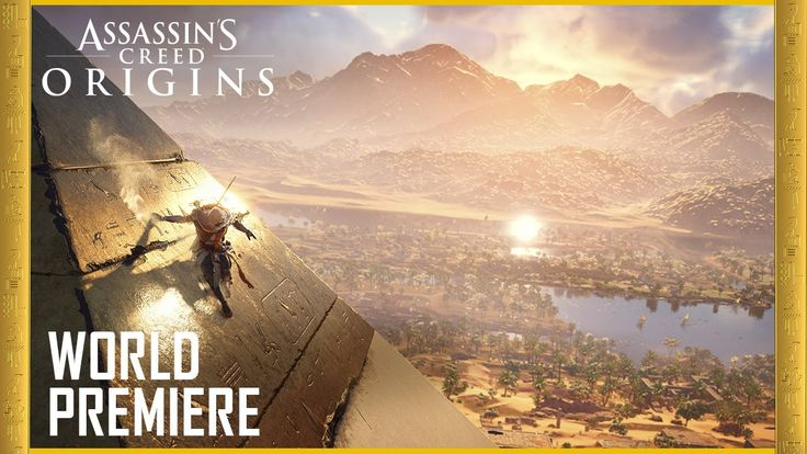 Assassin's Creed Origins: E3 2017 Official World Premiere Gameplay Trail...