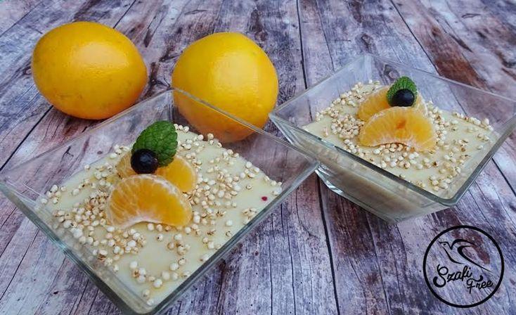 Narancsos quinoa desszertkrém 3adag