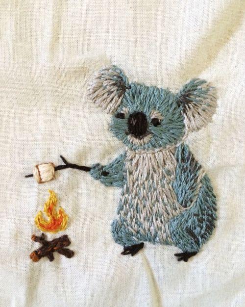 fuckyeahneedlework: valerie-rustad: Und ein Koala, liebe das!