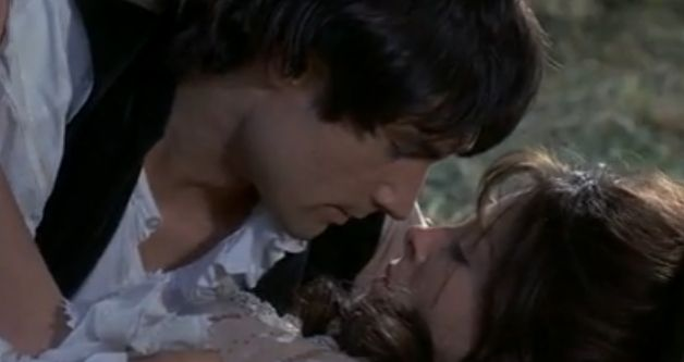 Heathcliff (Timothy Dalton) in Wuthering Heights (1970); Top 20 Bad Boys - Byronic Heroes in Literature
