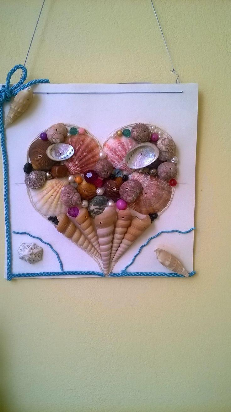 Heart ❤ of seashells