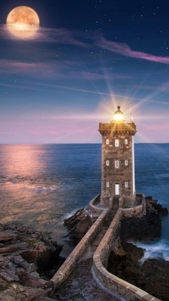 далеко маяк ночью красивые картинки часть продукции распространяется